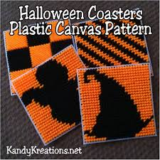Free Halloween Craft Patterns by Halloween Coasters Plastic Canvas Pattern Free Plastic Canvas