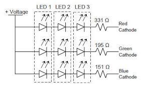 rgb led circuit diagram