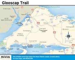 Nova Scotia Canada Map by Printable Travel Maps Of Atlantic Canada Moon Travel Guides