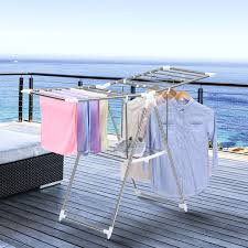 drying rack laundry clothes storage folding dryer hanger