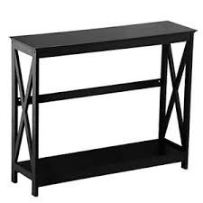 Entryway Accent Table 2 Tier X Design Hallway Large Console Table Entryway Accent Tables