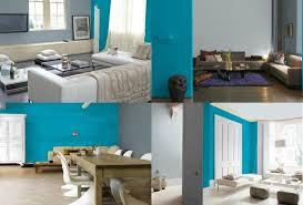 wohnzimmer grau trkis wandgestaltung in grau und türkis 25 farben ideen