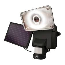 Motion Light With Camera Solar Powered Camera And Security Light 878 Lumens