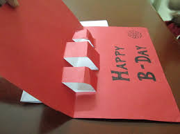 easy paper art by a kid for the kids pop up card paper craft