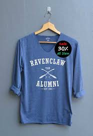 harry potter alumni shirt ravenclaw alumni shirt harry potter shirts v neck navy blue unisex