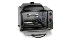 elite cuisine toaster elite cuisine 0 8cu ft multi function toaster oven w rotisserie