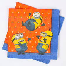 minion party minion party napkins pack of 20 only 2 49