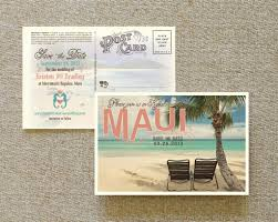 Best Save The Dates Vintage Postcard Save The Date Maui