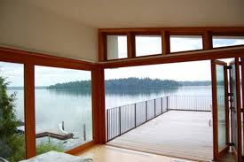 Modern Waterfront Home Plans Design Nice Lakefront House Plan