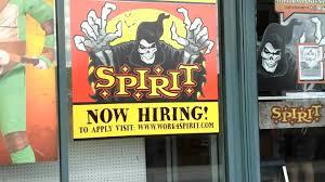 spirit halloween hiring