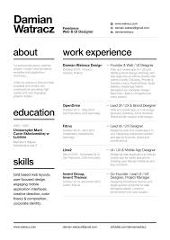 Best Font Resume 80 Best Resume Cv Images On Pinterest Resume Cv Menu And