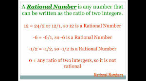 rational numbers 7th grade math youtube