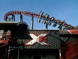Six Flags Fright Fest California Insanity Lurks Inside Six Flags Magic Mountain X2 Is Down