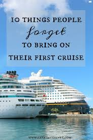 Top 10 Must Pack Cruise by Caravan Sonnet Top 10 Pinned Travel Posts