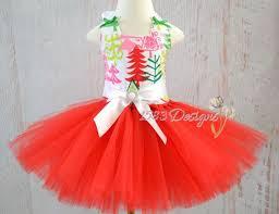 sale ready to ship christmas tree tutu dress sewn with lining