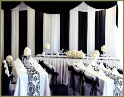 Black And White Table Decorations For Weddings workshop
