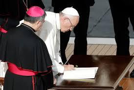 si e apostolique dans sa lettre apostolique le pape françois proclame le temps de