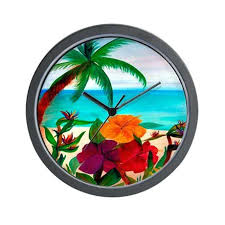 themed clocks tropical themed wall clocks check out all of our nautical coastal