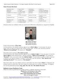 spanish reflexive verbs and daily routines