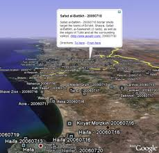 israel google israel lebanon conflict illustrated in google earth google earth blog