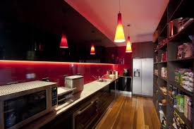 kitchen awesome red white black wood stainless cool design red