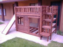 Diy Bunk Beds With Stairs Diy Bunk Bed Set With Stairs Cubbie Shelves And Of Course A