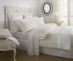 waffle piquet duvet cover set cream from hotel collection