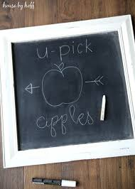 how to make the perfect chalkboard letters back to basics