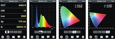 40 hz strobe light app mobile spectrum app spectrometer manufacturers uprtek