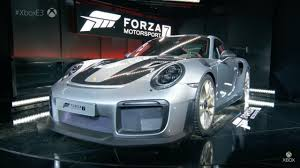 porsche supercar the 2018 porsche 911 gt2 rs is supercar star of forza 7 on xbox