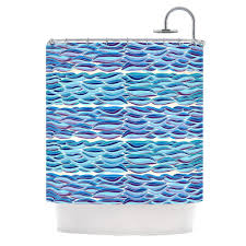 Graphic Shower Curtains by Pom Graphic Design