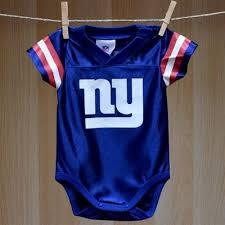 Ny Giants Crib Bedding Ny Giants Baby Dazzle Football Jersey 00 Baby Sports Clothes By