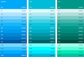 how to name android colors by palettes novatec - Android Color