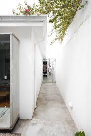 bureau de change sydney living area with concrete ceiling slab by bureau de change up