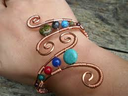 wire bracelet with beads images How to choose the right stringing material for your project jpg