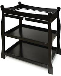 Sleigh Changing Table Don T Miss This Bargain Badger Basket Sleigh Changing Table Black