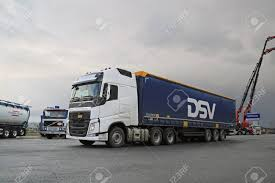 volvo truck center lieto finland november 14 2015 volvo fh 500 semi is test