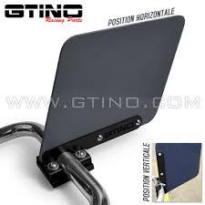 plaque numero rue support fixation en alu plaque numéro en phd pour quad gtino