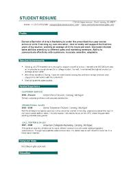 objective sample of resume resume objective template career