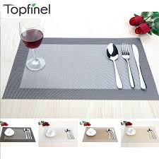 Placemats For Round Table Dining Table Placemats Walmart Dining Table Placemats Sets 6
