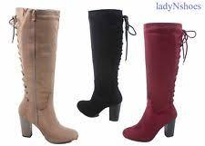 womens boots zip up back womens boots back zipper ebay
