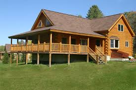 split level house with front porch coventry log homes our log home designs tradesman series