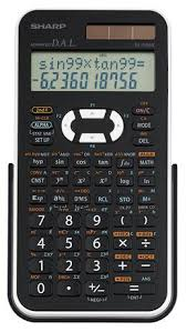 calculatrice graphique bureau en gros sharp calculatrice scientifique el546xbwh walmart canada