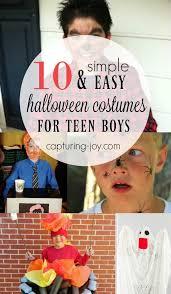 teen boy halloween costumes diy costumes for teen boys