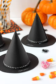 Halloween Party Favors Diy Witch U0027s Hat Halloween Party Favor Julep