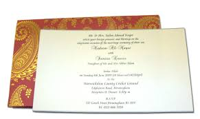 wedding cards in india hw018 indian design wedding card letterpressed gold paisley
