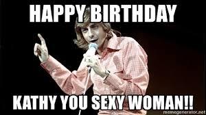 Kathy Meme - happy birthday kathy meme mne vse pohuj