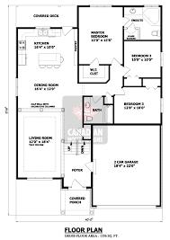 split plan house non split bedroom house plans