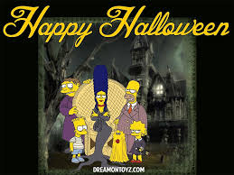 happy halloween gif images free cartoon graphics pics gifs photographs the simpsons