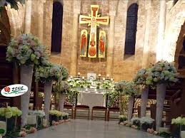 wedding flowers lebanon wedding flowers lebanon church decoration lovely color mix